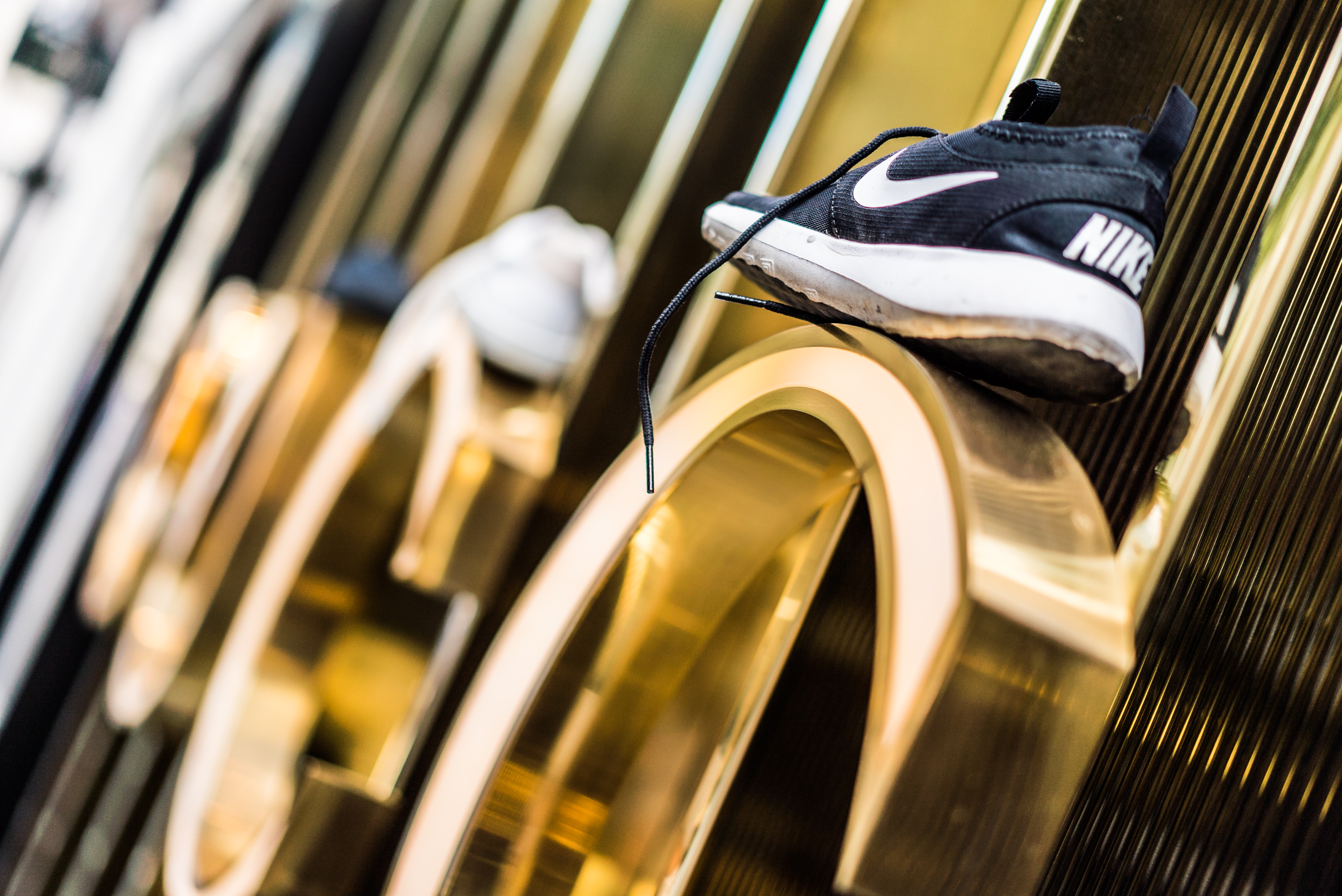 Sporty chic: Sneaker-Walk in der Frankfurter Goethestraße