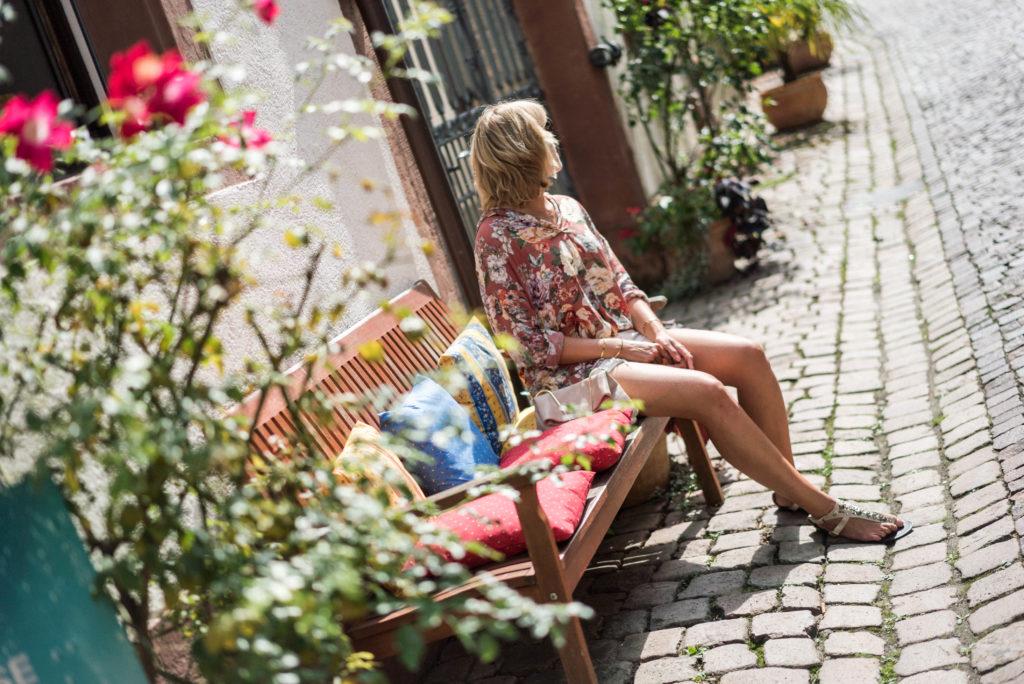 Lässiger Streetstyle-Chic im Rheingauer Elsass
