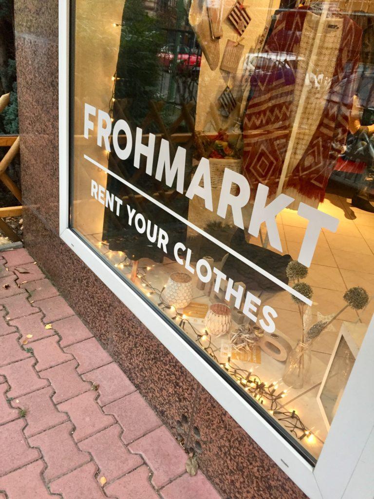 Mode mieten statt kaufen: Hessisch4fashion meets Frankfurter Frohmarkt
