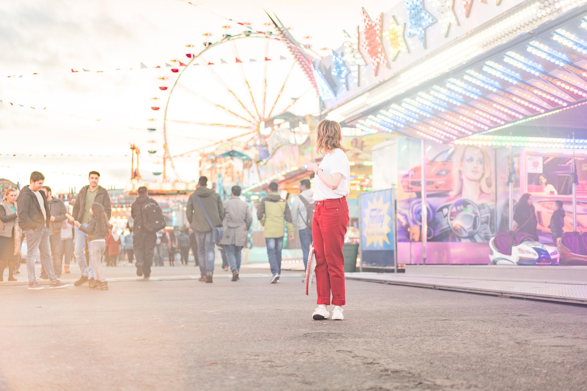 Ganz viel bling, bling: Festival-Look uff der Frankfurter Dippemess (Teil 1)