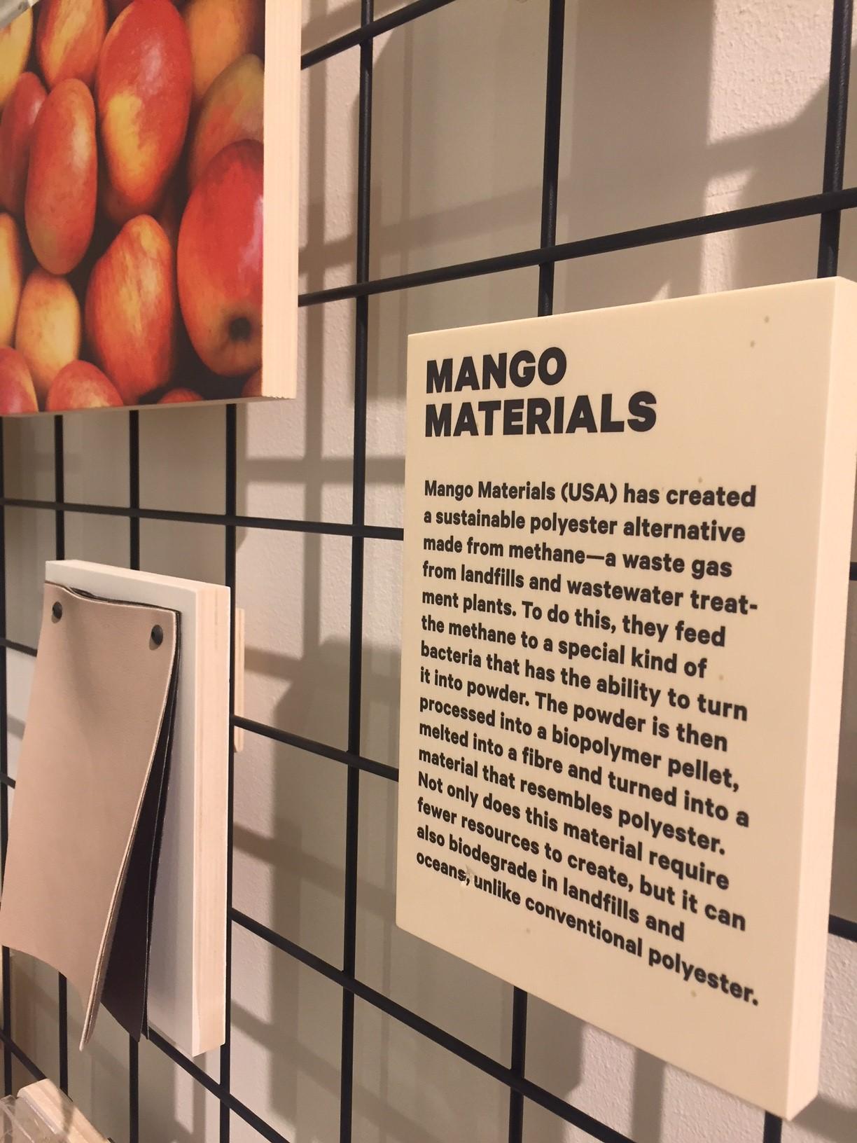 Modeproduktion mit Garn aus Mangoresten
