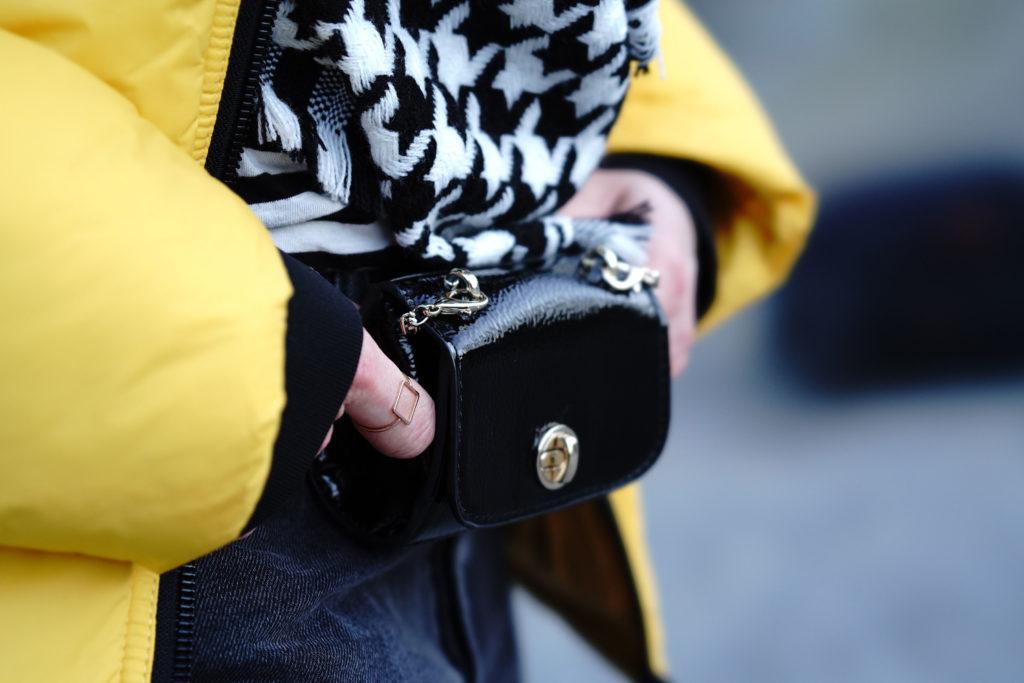 Hessisch4fashion Style-Check: Gelbe Puffer Jacket-Liebe in Mittelhessen