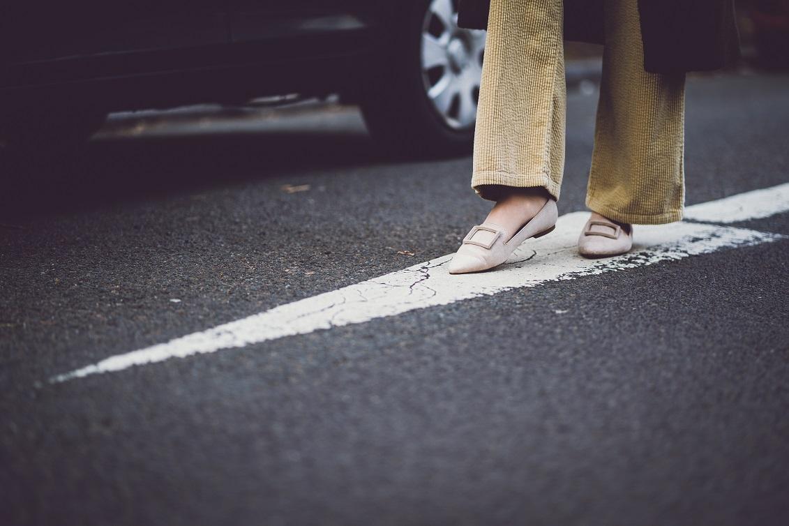 Niemals out: Meine Cordhose im Dichterviertel