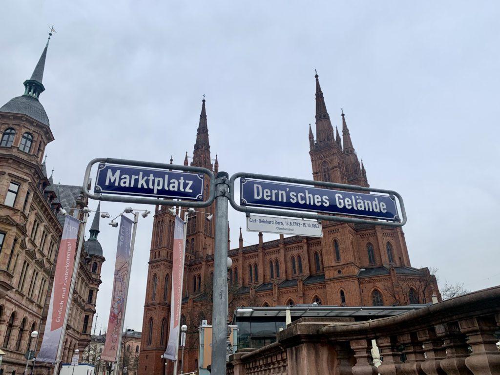 Marktplatz in Wiesbaden