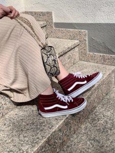 (Werbung) Dauertrend Retro-Sneaker: In Vans durchs fühlingshafte Wiesbaden